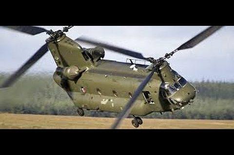 CH 47 Chinook – Latający kolos