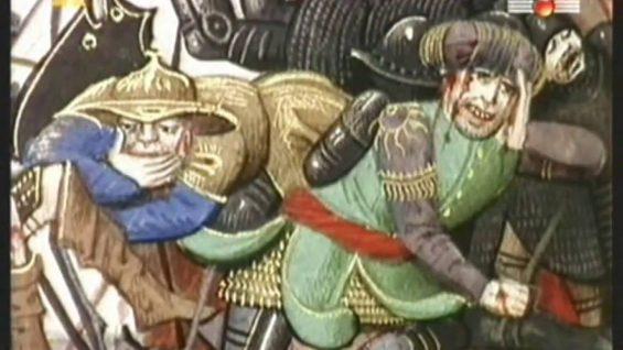 Czarny Książe i Bertrand du Guesclin