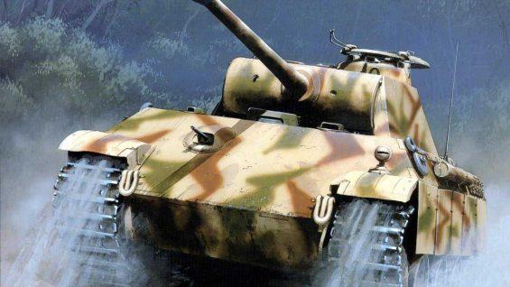 Czołgi, działa samobieżne i niszczyciele czołgów