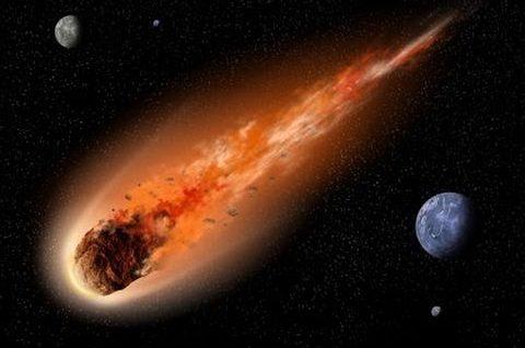 Groźba z nieba – Meteory
