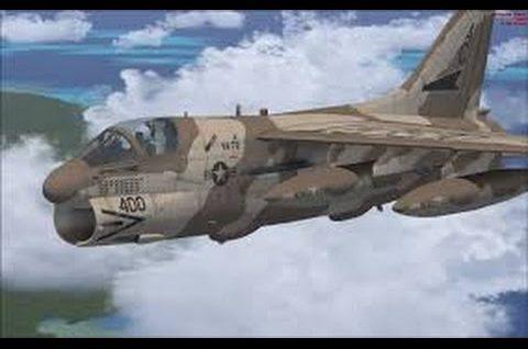 Legendarne samoloty bojowe – A7 Corsair II
