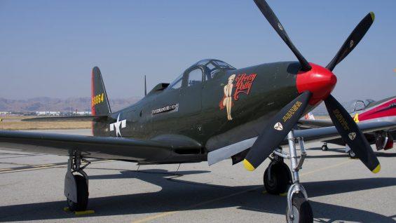 Legendarne samoloty bojowe – P39 Airacobra