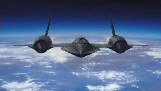 Legendarne samoloty bojowe – SR 71 Blackbird