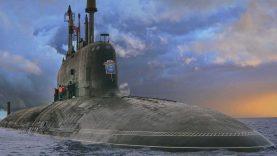 Rosyjskie okręty atomowe