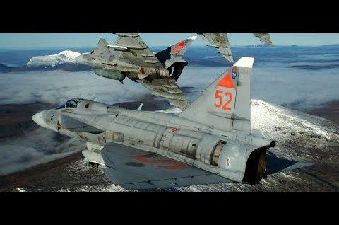 Szwedzkie samoloty bojowe
