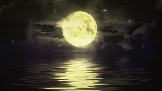 Uciekający Księżyc