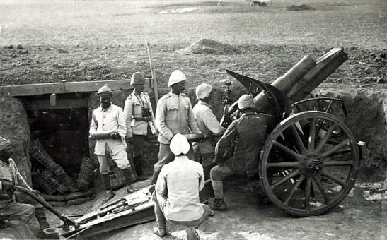 wojna howitzer-67778__340