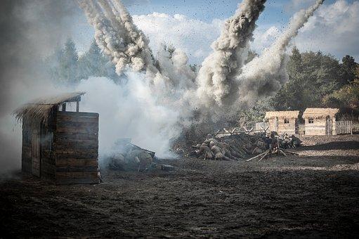 wojna the-eruption-2096161__340