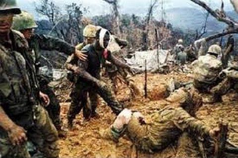 Wojna w Wietnamie. Bitwa o Khe Sanh, oblężenie bazy Marines.